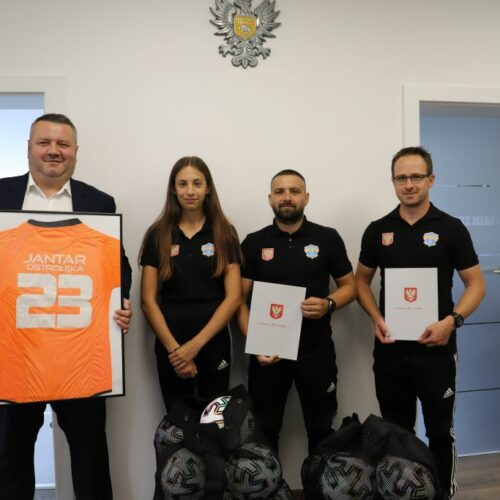 Prezydent Łukasz Kulik uhonorował sportowców